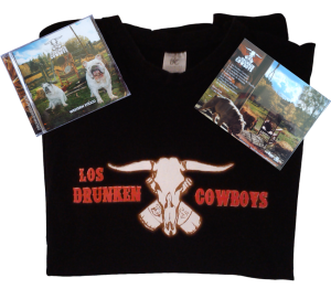 drunken pack Cd camiseta