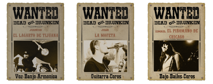 Wanted poster miembros