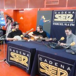 Entrevista en Cadena SER, Teruel