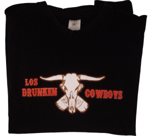 camiseta drunken cowboys