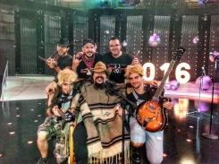 Los Drunken Cowboys gala nochevieja 2016 Aragon TV