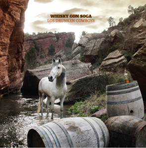 Portada Whisky con Soga Los Drunken Cowboys 2º CD