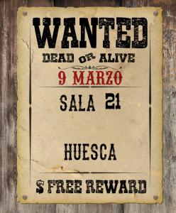 9 Marzo sala 21 - Huesca